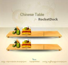 Chinese Table Dock - RD by snuffleupagus