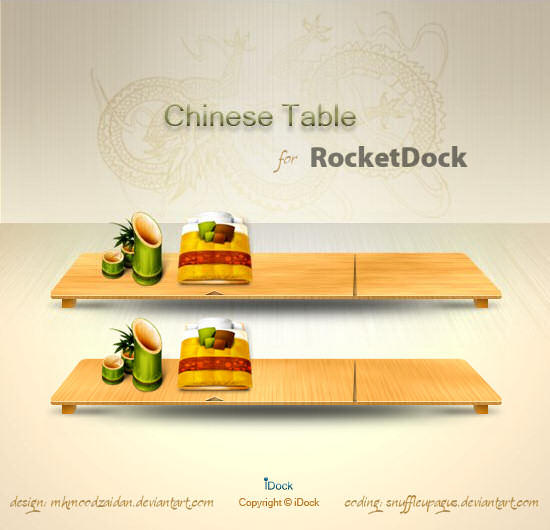 Chinese Table Dock - RD