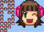 (ZIP Download) Haruka Amami Emoticon Set v1.0