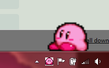 Kirby Shimeji by TornadoTasmanian