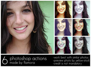 Photoshop Actions Set One.