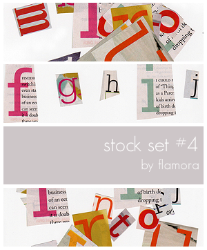Stock Set Four. by flamora