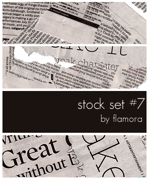 Stock Set Seven.