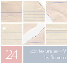 Icon Texture Set Nine. by flamora