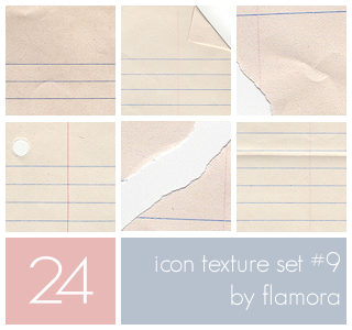 Icon Texture Set Nine. by flamora