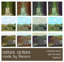 Photoshop Actions Set Five.