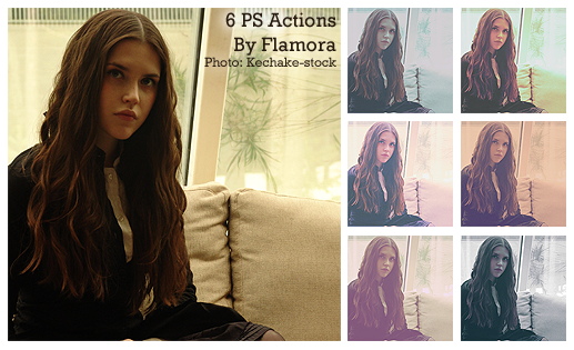 Photoshop Actions Set Six. by flamora