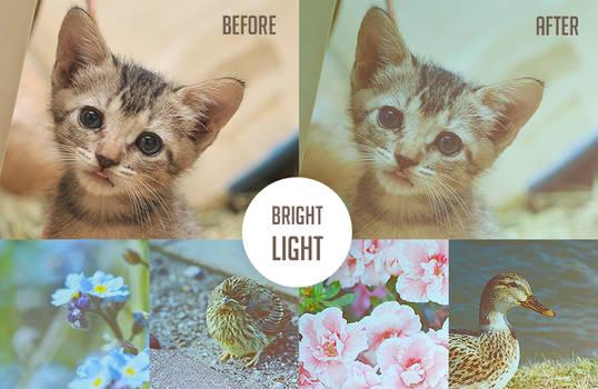 Bright Light Action.