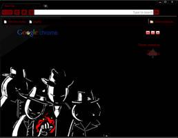 'Black' Chrome Theme by elrunethe2nd