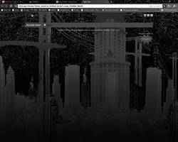 Cityscape Chrome Theme by elrunethe2nd