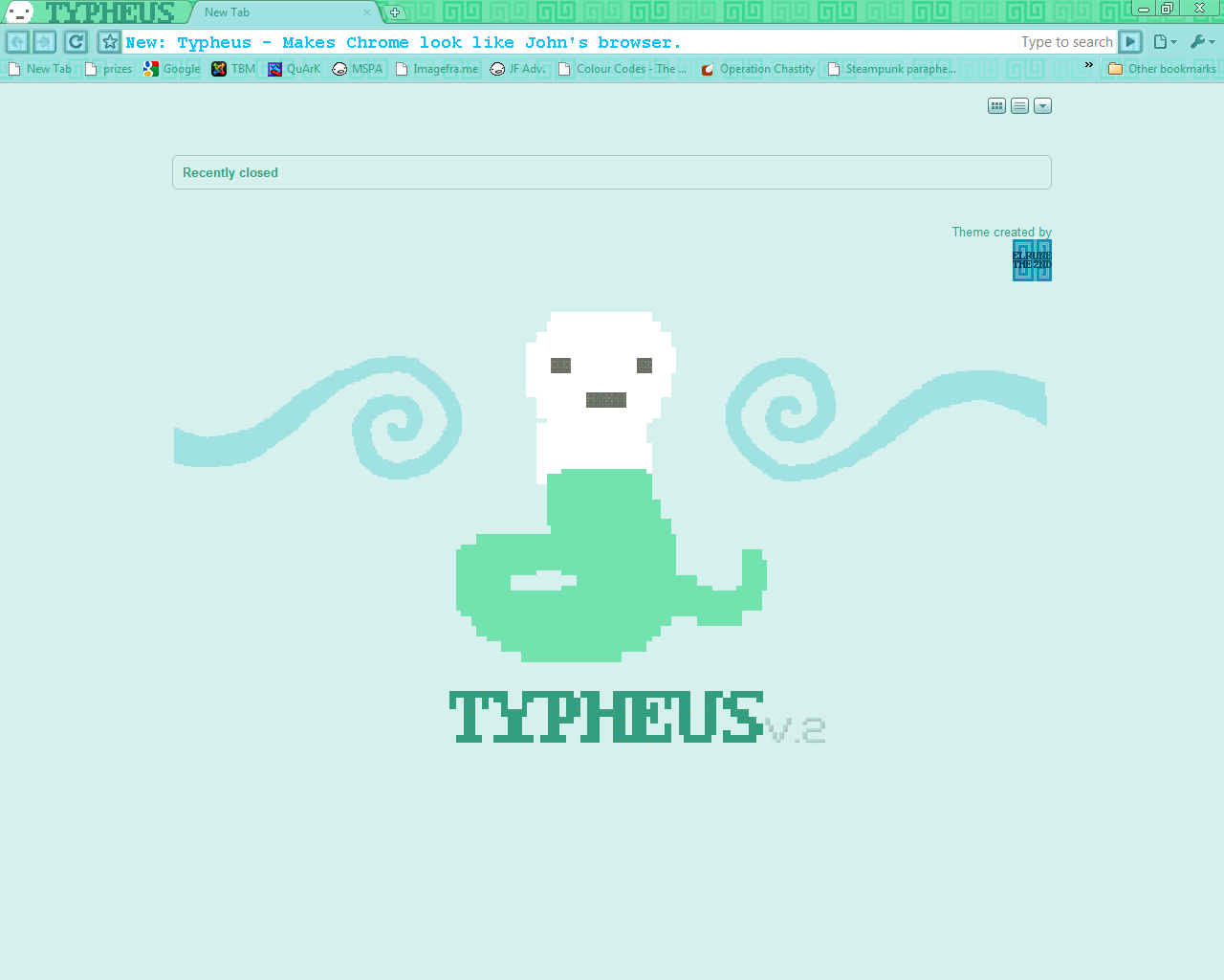 Typheus Chrome Theme (Revisited) by elrunethe2nd