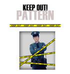 PS|PATTERN|  KEEP OUT