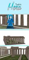 MMD Stage  Templo de Hera //Solo PMX//