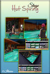 MMD Stage  Hot Spring /PMX/