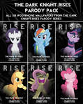 Dark Knight Rises Parody iPod/iPhone Wallpaper Pak