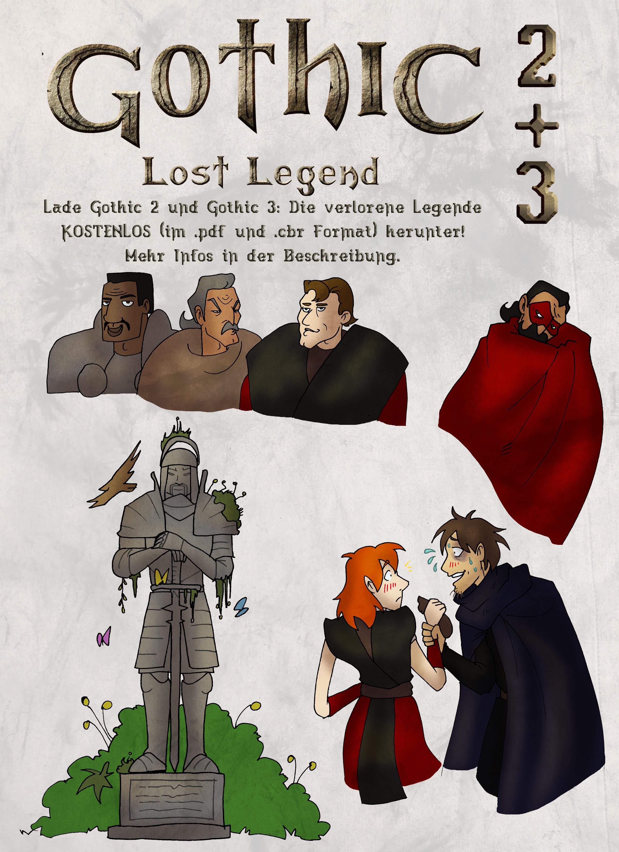 Gothic 2+3 Die verlorene Legende - ZIP by Coreyrn