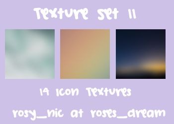Texture Set 11 by rosynic87