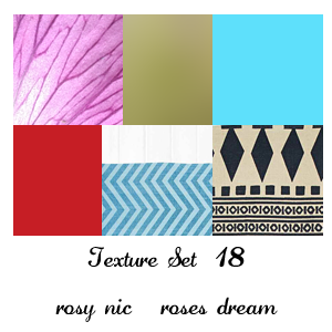 Texture Set 18 by rosynic87