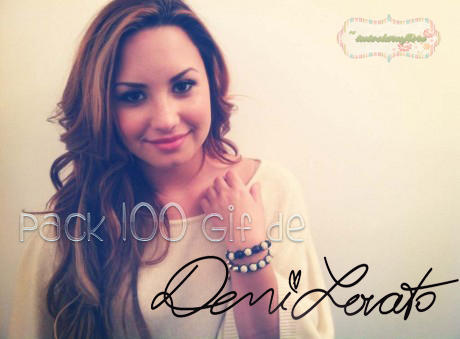 Pack 100 gif's de Demi Lovato by tutosLaruFiore