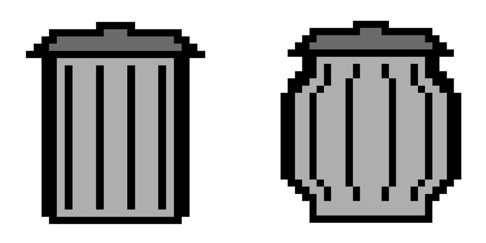 Classic Macintosh Trash by angelneo107 on DeviantArt