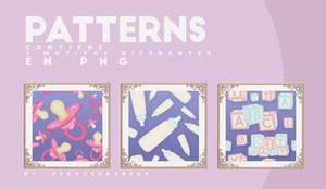 PACK / BABY PATTERNS by DearTeddybear