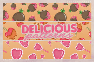 PACK | DELICIOUS PATTERNS by DearTeddybear