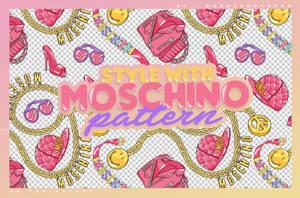 PATTERN | MOSCHINO by DearTeddybear