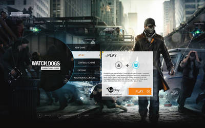 Watch Dogs UI Style Animated