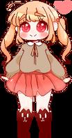 Mini pixel doll