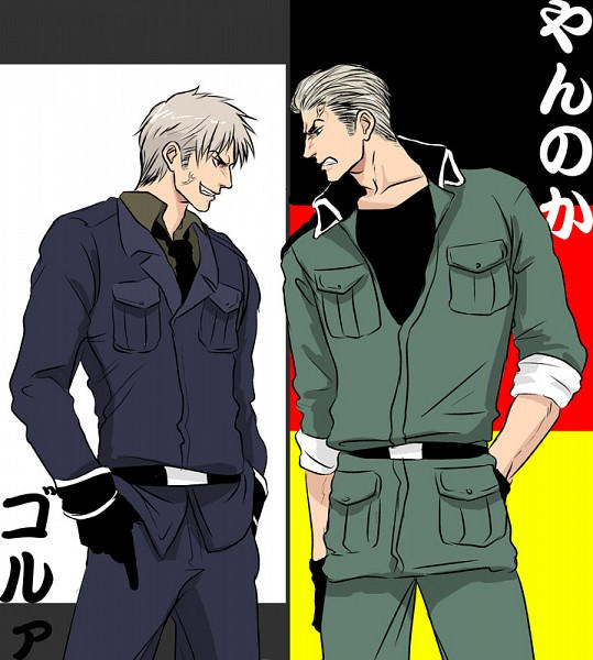 Germany x reader x prussia sibling rivalry by sunlessvamp95 on