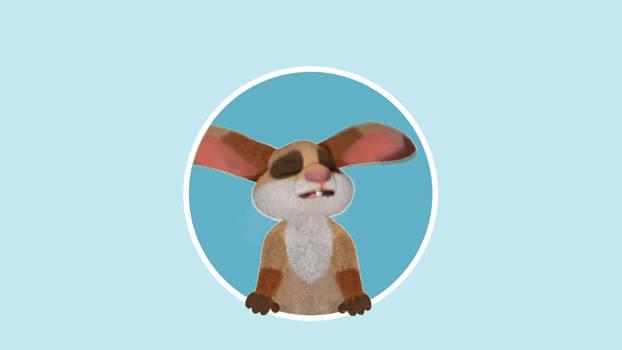 Fuzzy Bunny Logo Bumper