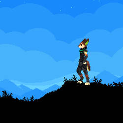 the blue horizon. [anim]