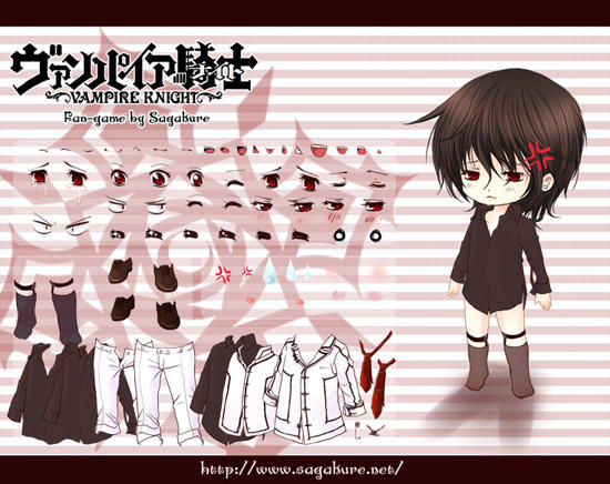 Vampire Knight flash mini game