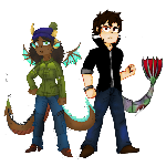 Sally and Seth [Pixel bounce]