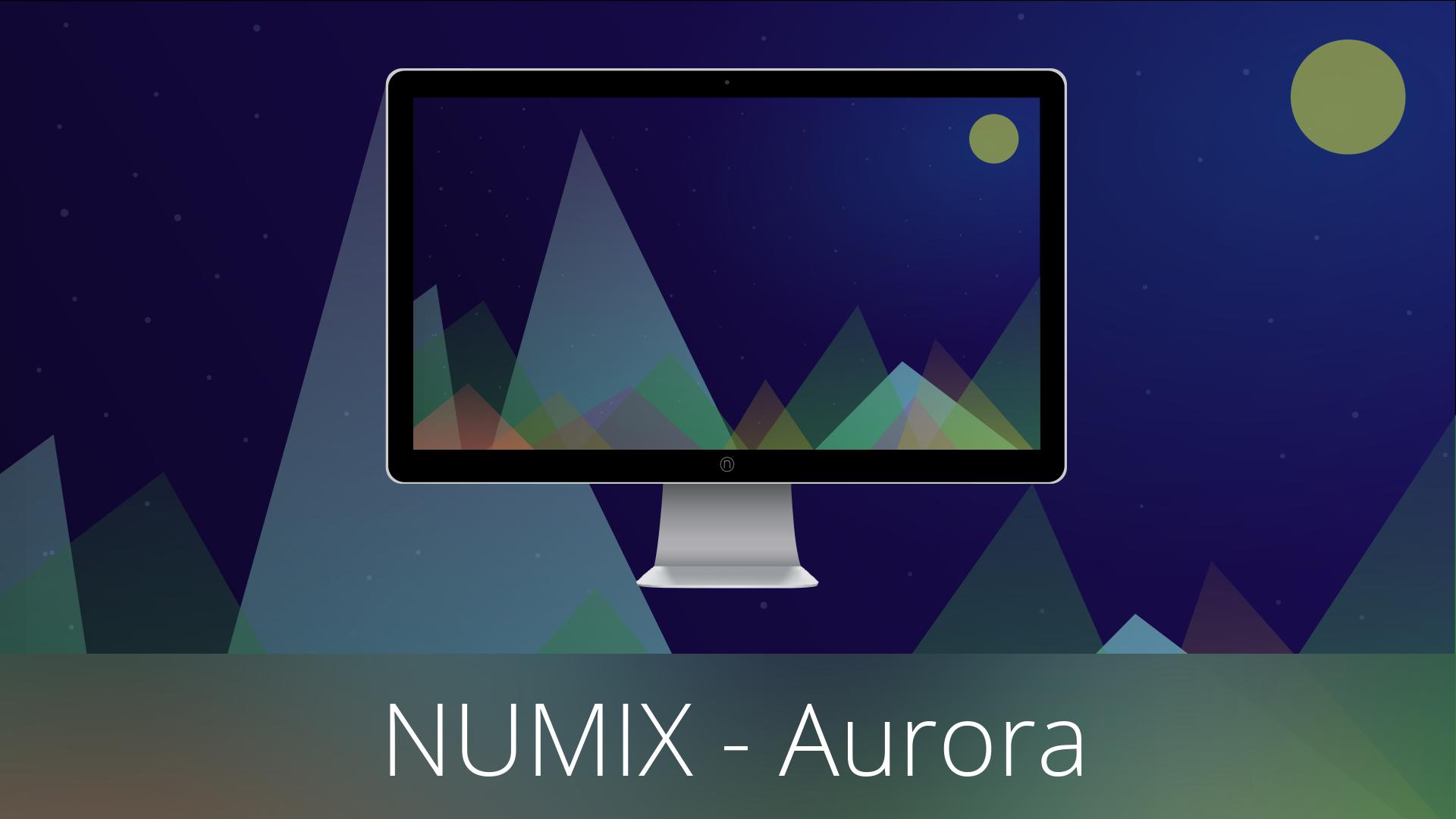 Numix Wallpapers - Aurora