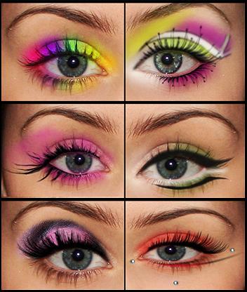 Eye make up pack