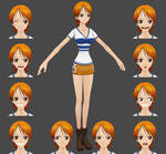 One Piece - Nami for XPS (UPDATED)