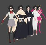 Bleach KyoKai Reiatsu Taiketsu - Rukia Pack