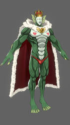 One Punch Man AHNK - Deep Sea King for XPS by o-DV89-o