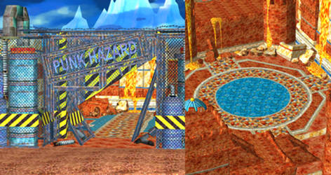 One Piece UWR - Punk Hazard Entrance for XPS by o-DV89-o