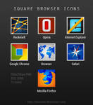 Square Browser Icons