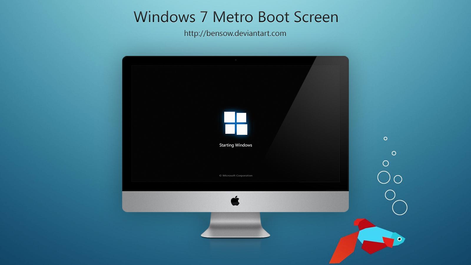 Windows 7 Boot Skin By Bensow On Deviantart