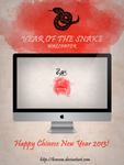 Year of the Snake Wallpaper