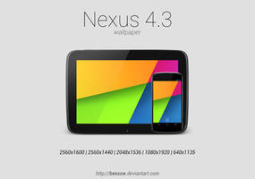 Nexus 4.3 Wallpaper by BenSow