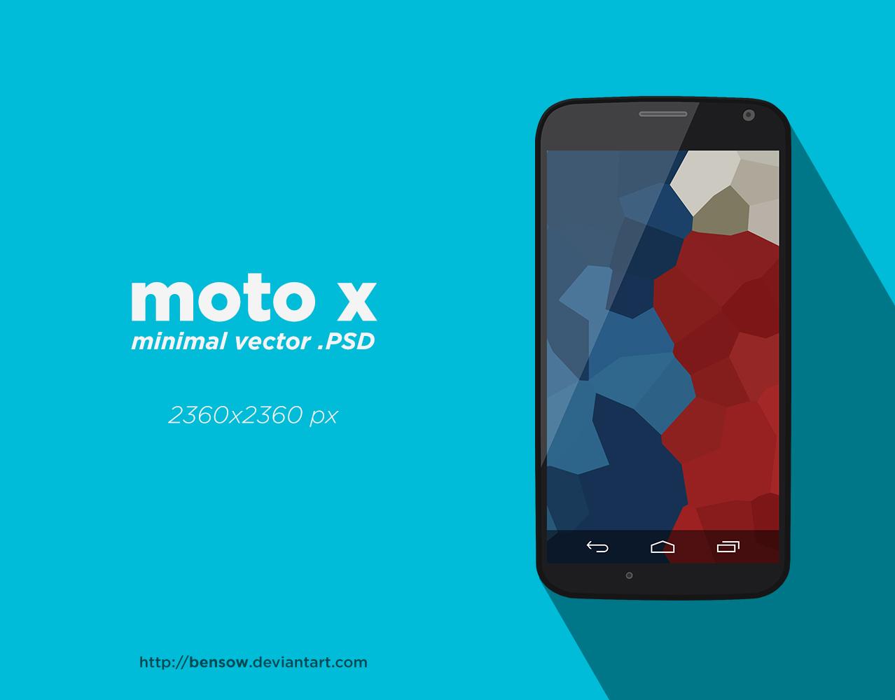 moto x Vetcor PSD by BenSow