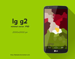 LG G2 Vector PSD by BenSow