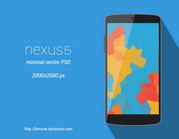 Nexus 5 Vector PSD by BenSow