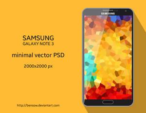 Galaxy Note 3 Vector PSD