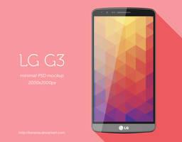 LG G3 Minimal PSD by BenSow
