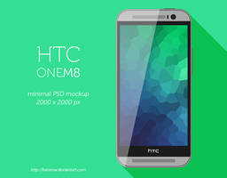 HTC One M8 Minimal PSD by BenSow